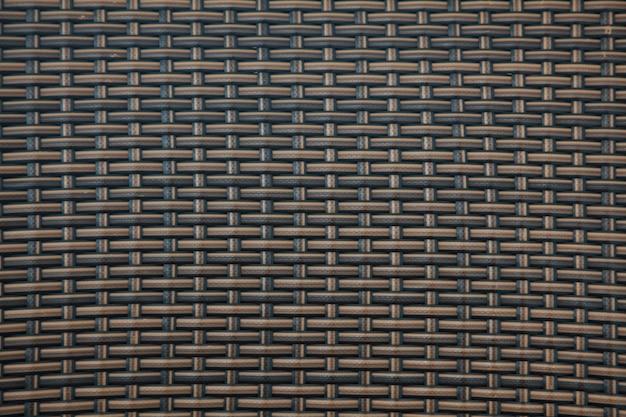 Attraversamento della struttura di legno marrone e lo sfondo