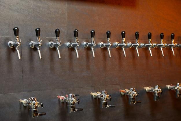 Attrezzatura da birra per imbottigliamento di birra in fila