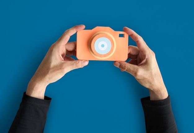 Attrezzatura fotografica di foto di fotografia creativa