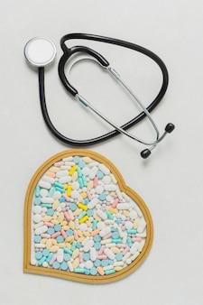 Attrezzature mediche e pillole