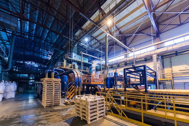 Attrezzature per l'industria di produzione di vetroresina alla fabbricazione