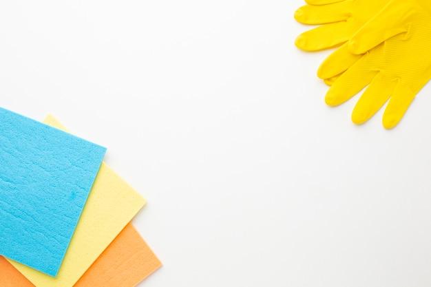 Attrezzature per la pulizia con spazio di copia