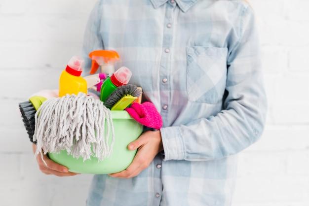 Attrezzature per la pulizia dei primi piani