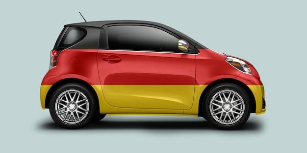 Auto bandiera tedesca