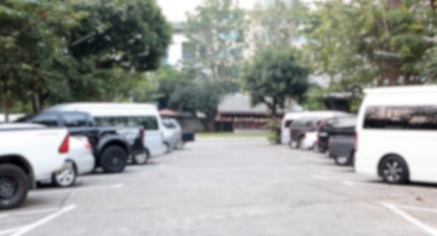 Automobile di parcheggio vaga estratto all'aperto