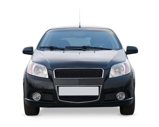 Automobile di vista frontale isolata
