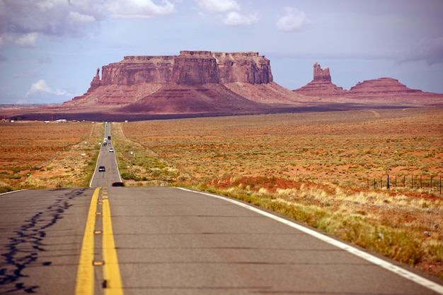 Autostrada del deserto americano
