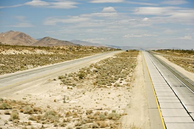 Autostrada del deserto di mojave