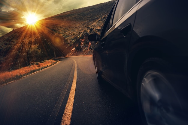 Autostrada estiva di estate