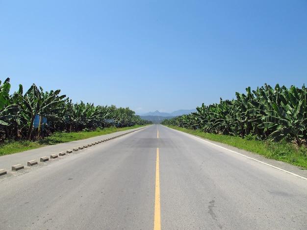 Autostrada nelle montagne dell'honduras