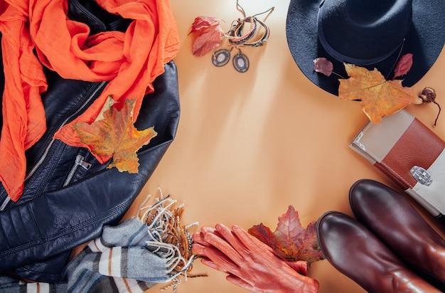 Autunno vestito femminile set di vestiti, scarpe e accessori