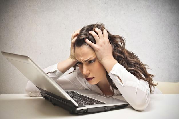 Avere difficoltà nel lavoro