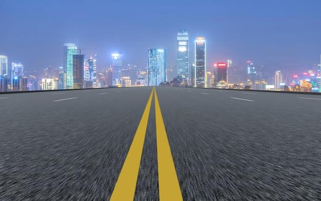 Avvolgimento movimento stradale di asfalto natura