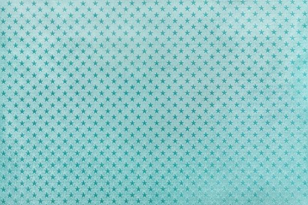 Azzurro di carta stagnola con motivo a stelle