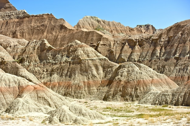 Badlands del dakota del sud
