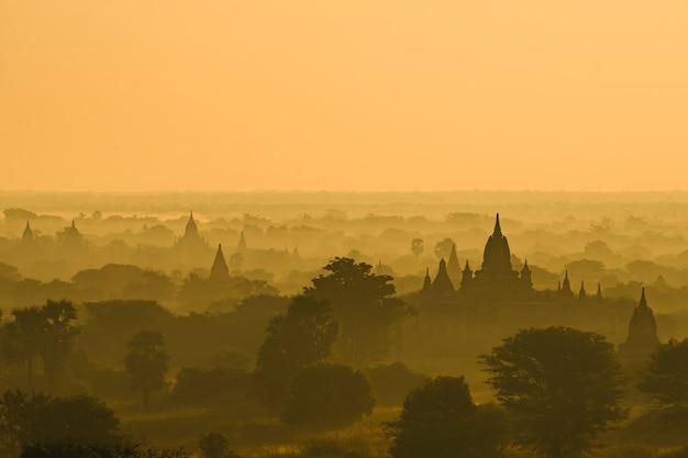Bagan scene, myanmar