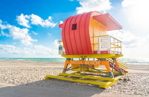 Bagnino stazione a miami beach