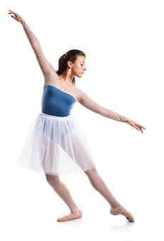 Ballerina adolescente ragazza ballerina