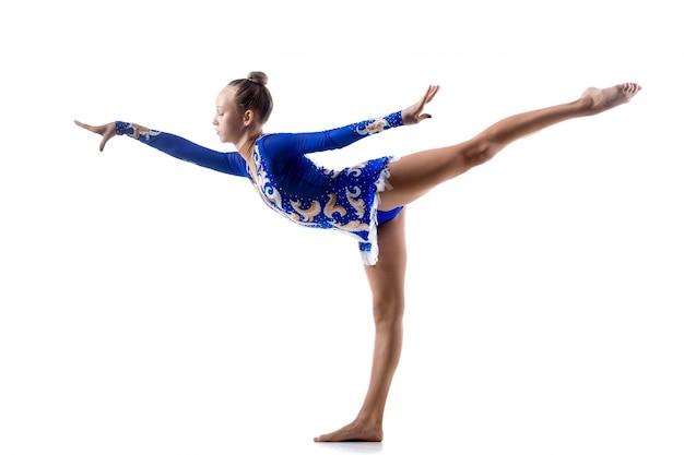 Ballerina che lavora