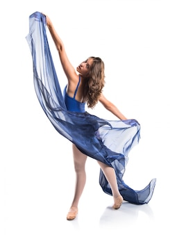 Ballerino ragazza teenager