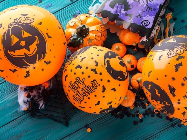 Ballooons e decorazioni per feste di halloween