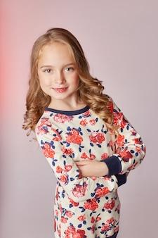 Bambini moda modelli giovani bambini in posa