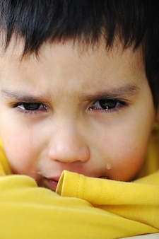 Bambino che piange, scena emotiva