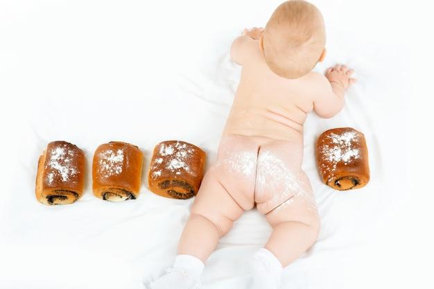 Bambino e panini