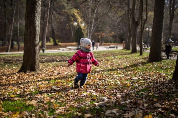 Bambino nel parco