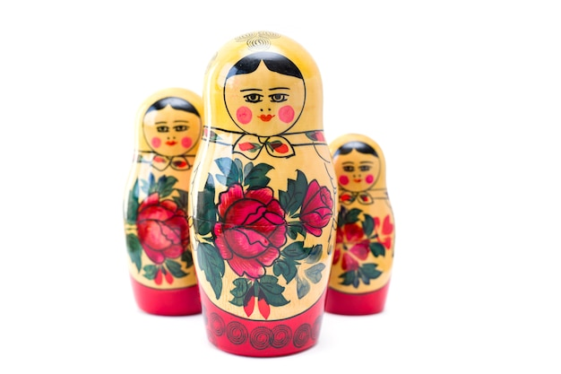 Bambole russe di nidificazione, matrioske