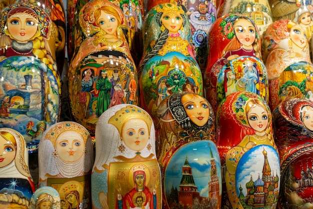 Bambole russe di nidificazione