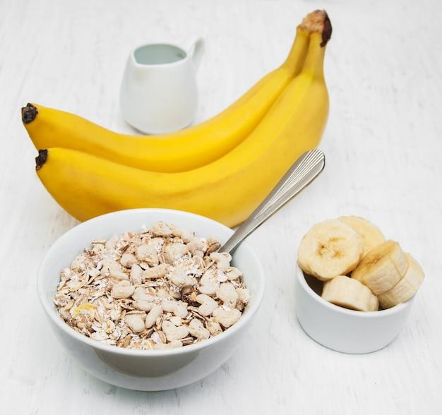 Banana e muesli