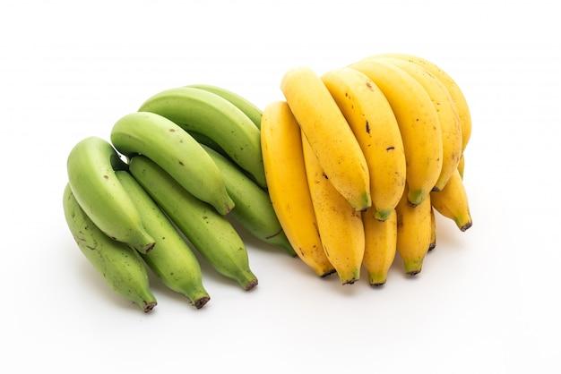 Banana isolato su sfondo bianco