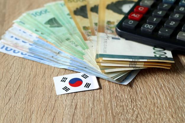 Banconota della corea del sud