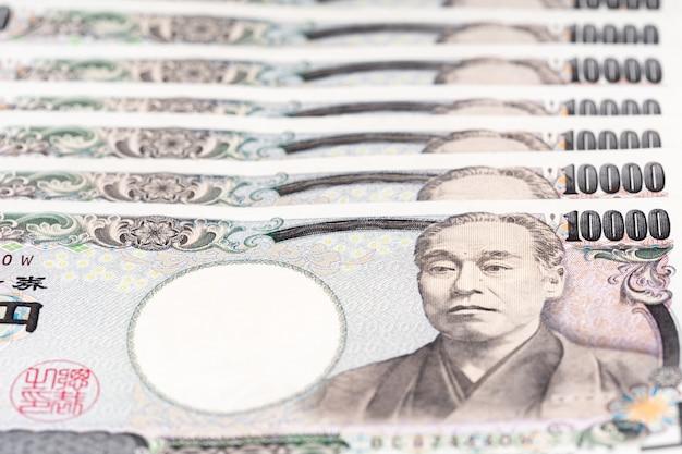 Banconota giapponese, lo yen è la valuta ufficiale del giappone