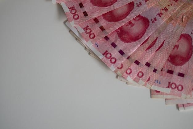 Banconota valuta cinese yuan (cny, rmb) affari finanziari internazionali e borsa