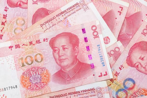 Banconote cinesi dalla valuta cinese