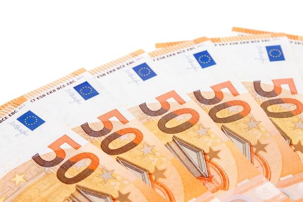 Banconote da cinquanta euro