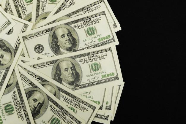 Banconote di denaro contante 100 dollari