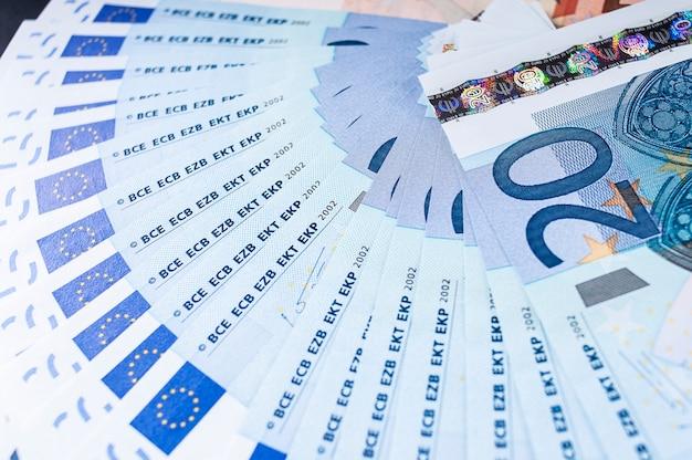 Banconote in euro venti banconote in euro
