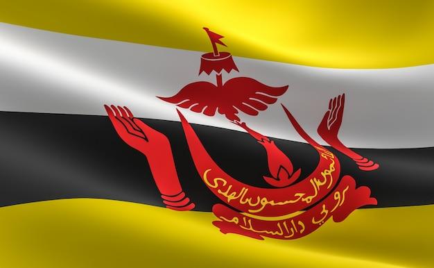 Bandiera bruneiana