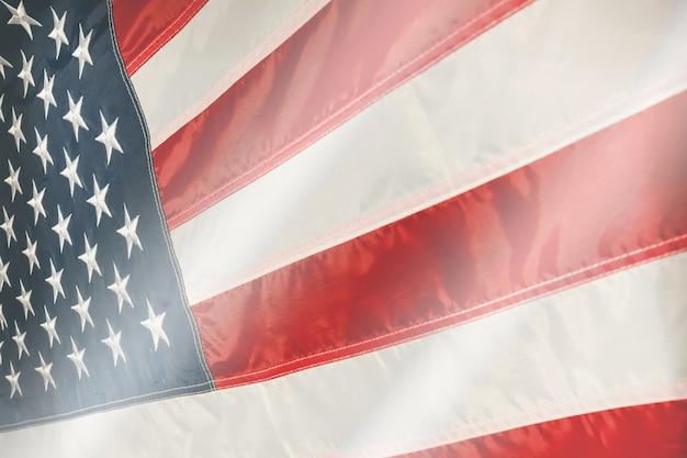 Bandiera degli stati uniti d'america usa