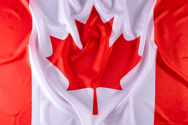 Bandiera del canada. buon canada day. giorno dell'indipendenza. 1 luglio