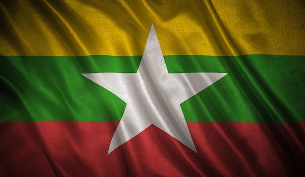 Bandiera del myanmar