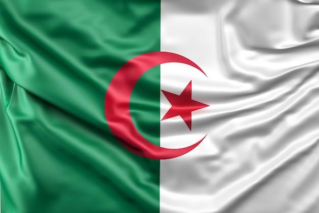 Bandiera dell'algeria