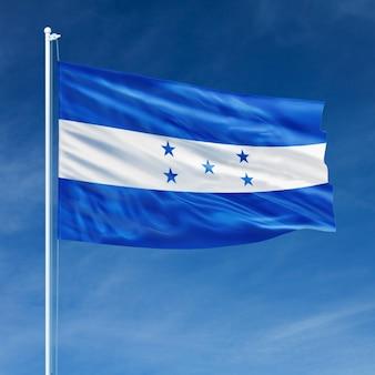 Bandiera dell'honduras in volo