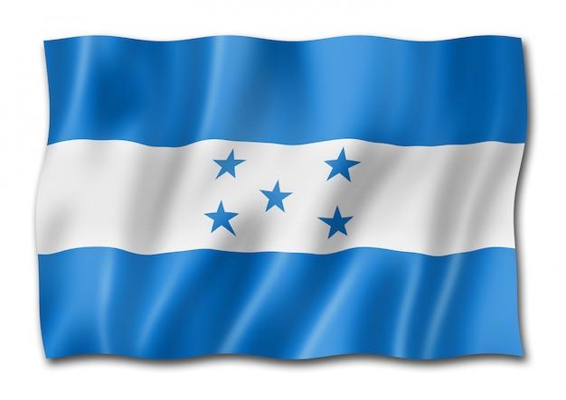 Bandiera dell'honduras isolata