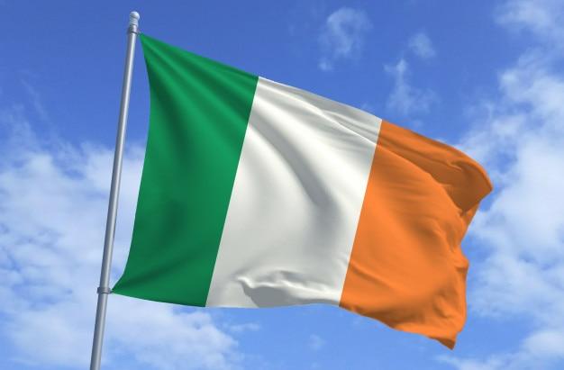 Bandiera dell'irlanda