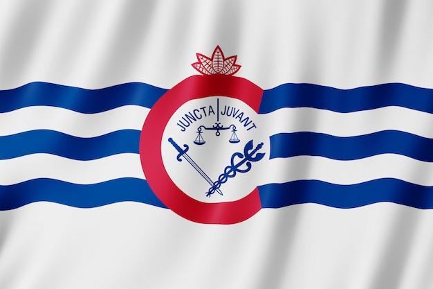 Bandiera della città di cincinnati, ohio (us)