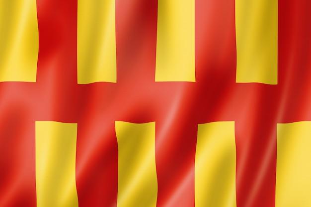 Bandiera della contea di northumberland, regno unito